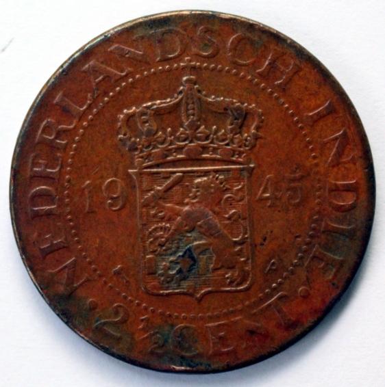 Side 2 : Nederlands Indie 2.5 Cent