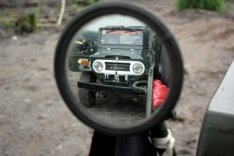 Jeep inside rearview mirror