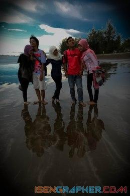 Air Manis Beach also known as Malin Kundang beach in Padang