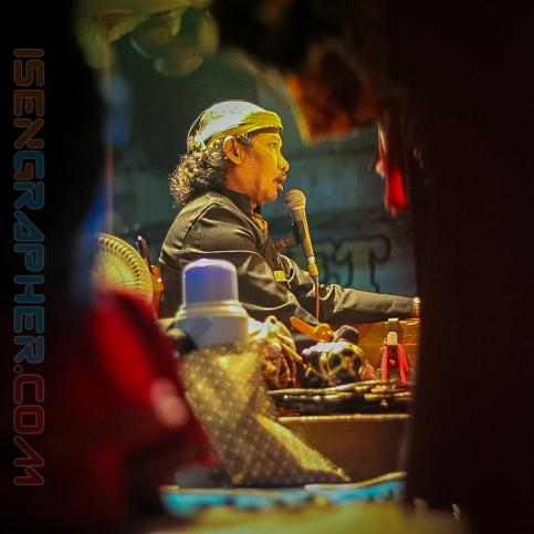 the master of wayang (dalang)